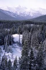 1988 01 00   0  Kananaskis Peak AB (Custom) (waldronyoung) Tags: kananaskis country winter