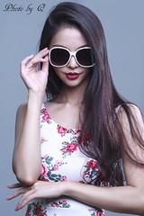 model @ studio (SU QING YUAN) Tags: sony a99 135za sonnart18135 studio beauty beautiful sunglass hair face pretty cute model girl female portrait