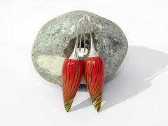 earring ohrringe von polymerdesign auf etsy (http://polymerdesign.etsy.com) Tags: earring beads blätter und blüten polymerclay fimo filigrandesign auf dawanda polymerdesignaufetsyfiligrandesignaufdawandakatzehunddackelkünstlerkatzesusicat greiz handgefertigteperlenausderperledesvogtlandesvonfiligrandesignpolymerclayperlen