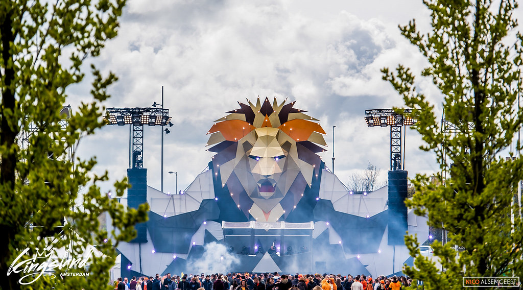 The Kingstage Hard @ Kingsland Festival Amsterdam