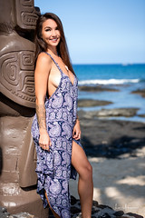Kristina Chai 04:04:17 52 (JUNEAU BISCUITS) Tags: kristinachai model modeling femalemodel female portrait portraiture kailuakona hawaii bigisland nikond810 nikon beauty beach ocean pretty sexy beautiful hapahaole hapa