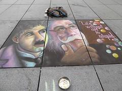 Colors of Paris (brigraff) Tags: streetart art drawing dessin craie couleurs sol trottoir paris brigraff