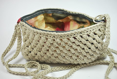 Bolso crochet (La Borda del Crochet) Tags: ganchillo dropsbomulllin algodón lino crochet handmade bolso