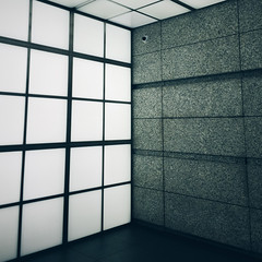 Walls, ceiling, and a security camera (Olly Denton) Tags: walls glass concrete lines squares geometry light ceiling design architecture architecturelovers architecturalphotography iphone iphone6 6 vsco vscocam vscotokyo vscojapan tokyointernationalforum 東京国際フォーラム tokyo 東京 japan 日本