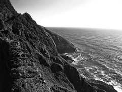 oREGON cOAST (wNG555) Tags: 2014 oregon newport capeperpetua florence bw pacificcoast fav25