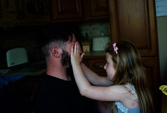 Peekaboo (cshelleybrown) Tags: uncle jay esmee people portrait face children nikon d3300 niece