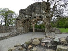 P1110859 Basingwerk Abbey, Holywell, Wales (31) (archaeologist_d) Tags: wales cistercians 12thcentury basingwerkabbey holywell abatydinasbasing