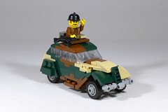 Peugeot 202 (Rebla) Tags: peugeot 202 lego wwii rebla ww2 world war 2 amr 35 tank