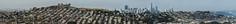 olmstead skyline ll (pbo31) Tags: bayarea nikon d810 color california april 2017 spring boury pbo31 sanfrancisco salesforce construction tower sunset over skyline rooftops bernalhillpark bernalheights view panoramic large stitched panorama baybridge bridge mclarenpark
