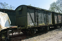 4179 Peak Rail 090417 (Dan86401) Tags: 4179 wgb4179 vwv vanwide br ventvan wagon freight ventilatedvan peakrail
