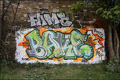 Fame / Bake (Alex Ellison) Tags: fame rcs bake add hackneywick eastlondon urban graffiti graff boobs