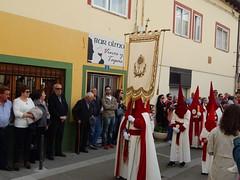 1410 (amgirl) Tags: mansilladelasmulas maundythursday april13 2017 day15 semanasanta holyweek spain meseta abril april caminodesantiago procession juevessanto