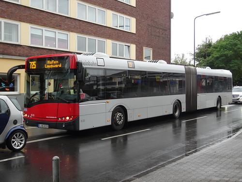 """Düsseldorf: Solaris Urbino """"Rheinbahn"""""""