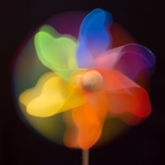 Colourful windmill toy... HMM! (Gianna Fou.) Tags: colours colourful toy macro monday intentionalblur