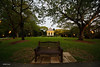 The Bench and the Bandstand (eddylynx) Tags: sbg bandstand bench sunset sigma1224mm singaporebotanicgardens