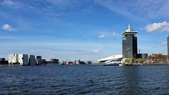 Naar de overkant (Peter ( phonepics only) Eijkman) Tags: amsterdam city gvb ferry pont pontveer haven harbour water nederland nederlandse netherlands noordholland holland