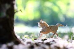 Horse ( origami ) (Adri 79) Tags: adrianodavanzo paper origami horse nicolasgajardohenriquez