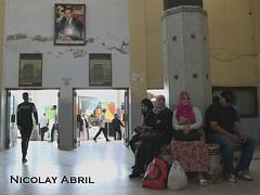 Tangier bus station (Nicolay Abril) Tags: tánger tangier tangeri tétouan tetuán province marruecos marocco morocco maroc marokko maghreb magreb africa afrika afrique طنجة تطوان المغرب أفريقيا العربي