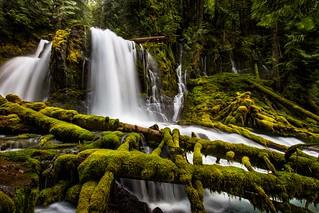 Upper Downing Creek Falls