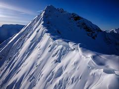Off for the peak (VictorLiu Photography) Tags: fujifilm canada wideangle snow banff winter photography victor liu