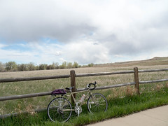 116/365 2017 dodging storms (d2roberts) Tags: 365the2017edition 3652017 day116365 26apr17 cachelapoudretrail windsor clouds surly longhaultrucker