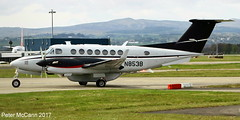 N853B  Beech 350 Glasgow April 2017 (pmccann54) Tags: n853b beech350