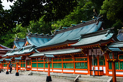 Kii peninsula, Japan (David Ducoin) Tags: asia boudhism japan kii kumanokodo nature prayer praying religion roof shinto shrine temple shingu jp