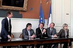 Serge Perottino et ses élus ont voté le budget et l'ensemble des travaux à réaliser dans le village - 20170420