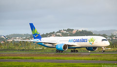 F-HNET 🇫🇷 (Maxime C-M ✈) Tags: travel world french airport passion new aviation city caribbean martinique paris orly departure green grass runway heavy afternoon international beacon antilles airline