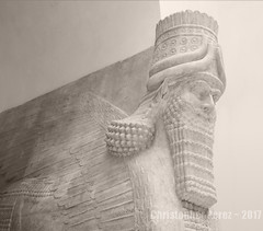 Lamassu ~ Louvre, Paris, France (Christopher Mark Perez) Tags: lamassu louvre paris france