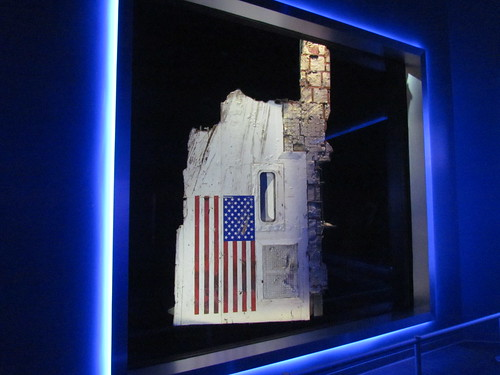 Challenger Wreckage at Kennedy Space Center -- Titusville, FL, March 15, 2017