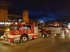 Truck 13 (MCN13) Tags: columbus fire ohio pierce tiller ladder truck