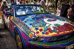 Unicorn Mustang IMG_5635-1 (matwith1Tphotography) Tags: matwith1t canon eos70d 70d 24105mm artcarparade outdoors colorful unique