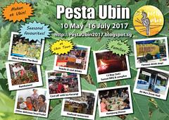 Pesta Ubin 2017 poster: Makan at Ubin (wildsingapore) Tags: pesta ubin wildsingapore makan