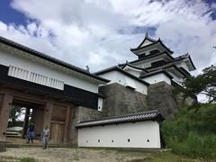 Shirakawa-jou-3 (Stop carbon pollution) Tags: japan 日本 honshuu 本州 touhoku 東北 fukushimaken 福島県 shirakawashi 白河市 cycletouring 自転車ツーリング