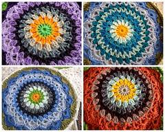 NEW MANDALAS (Explored) (Patchwork Daily Desire) Tags: mandala crochet yarn corner patchworkdailydesire