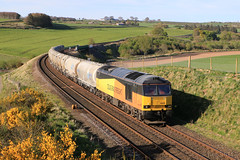 Colas 60096 on 6B32 at Inverkeilor (60044) Tags: colas railfreight class 60 60096 cement aberdeen oxwellmains lunan water inverkeilor network rail
