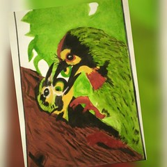 #My ☺#artwork.. #save #birds #nature #world (laxmideep) Tags: birds nature world save artwork my s marie