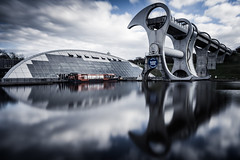 The Falkirk Wheel, Scotland (Chris Golightly) Tags: falkirk wheel scotland canal union clyde forth lee filters long exposure