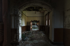 The Study Hall (Paul J Photography) Tags: urbex abandoned architecture