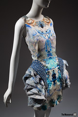 Alexander McQueen dress (Museum at FIT) Tags: themuseumatfit alexandermcqueen expeditionfashionfromtheextreme fit newyorkcity fashion 201751