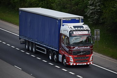 V9 RMD (markkirk85) Tags: lorries lorry truck trucks a1 motorway a1m alconbury volvo fh southbar transport v9 rmd v9rmd