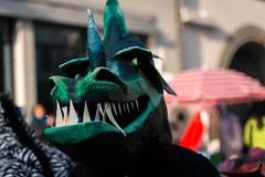 DSC_8710.jpg (saladino85) Tags: drinking festival fun mask dress different festa fasnacht parade swiss luzern peoplestrange dressup green 2017 monsters drums party funny music goblins lookingatthecamera scary masks lucern swisslife switzerland