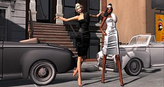 Dancing In the Street (MISS SL ♛ Ireland 2016) Tags: prism fashion style dress secondlife second life avaway chicchica lamb