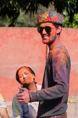 Rajasthani People-287.jpg (Black Stratocaster Laurent) Tags: agra fortrouge fêtedescouleurs holi inde rajasthan
