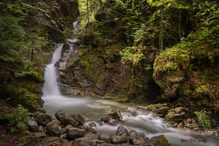 Morzine - La cascade de Nyon