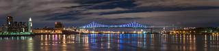 Jacques Cartier Bridge, illumination