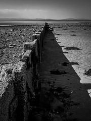 Groyne (ColinParte) Tags: sea bangor seaside groyne beach summer shadow