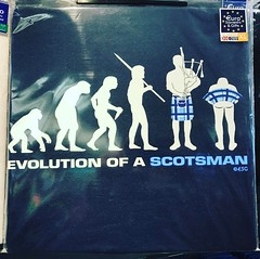 Evolution of a Scotsman #tshirts #scotland