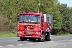 V. Nicholson Volvo F10 L713 EBW (Kilmachalmag) Tags: volvo f10 west cumberland heavy haulage intercooler the british bulldog